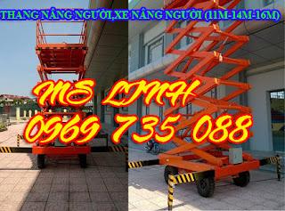 0969735088 Siêu rẻ xe nâng người 10m, 11m, 14m, 16m, thang nâng ziczac
