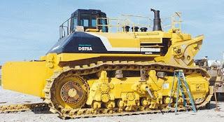 buldozer terbesar di dunia