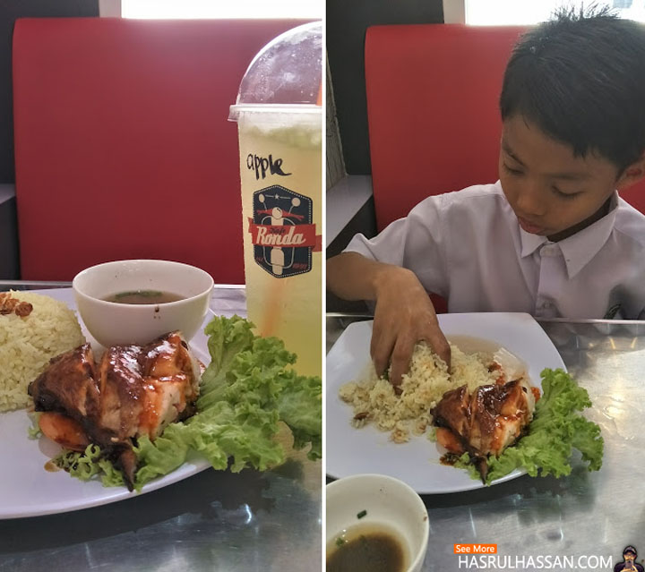 Nasi Ayam Restoran Kafe Ronda di Parit Buntar