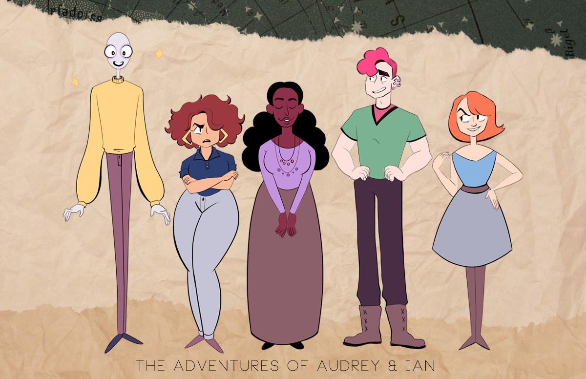 Animation Character Design Portfolio : Caeli demarco week final portfolio lcad character design for