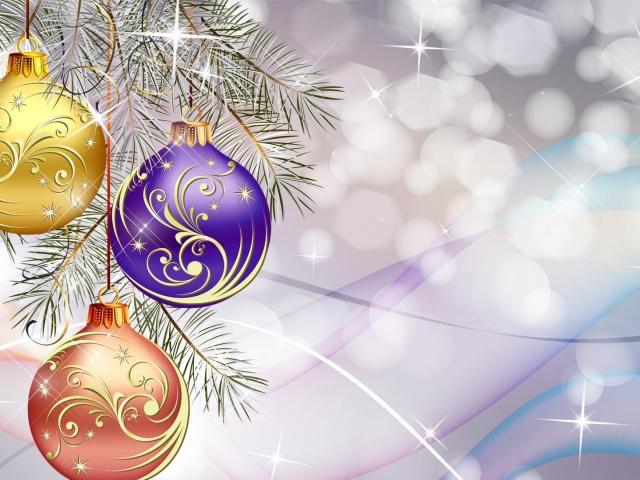 download besplatne slike za mobitele čestitke blagdani Merry Christmas kuglice za bor