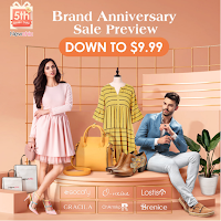Newchic 5th anniversary promotion sale