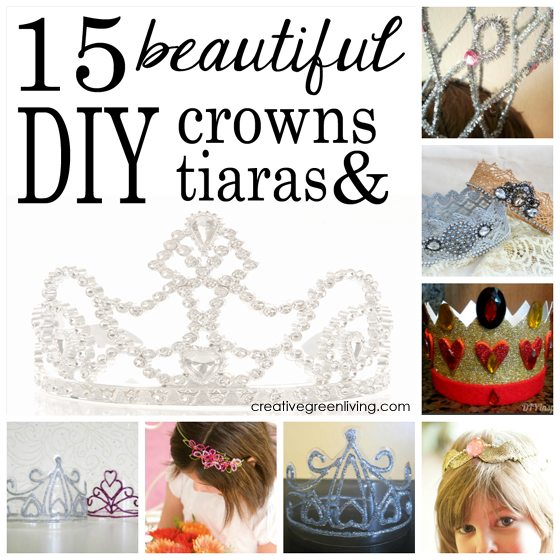crowns and tiaras that you can make