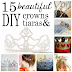 15 Beautiful DIY Crowns & Tiaras to Make