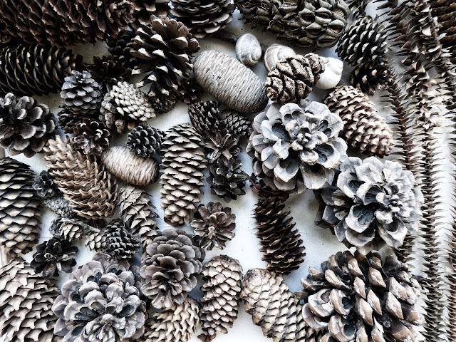 Inpirational: Decoratiuni de Craciun cu conuri de brad