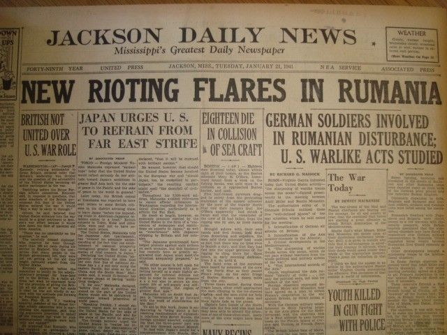 21 January 1941 worldwartwo.filminspector.com Jackson Daily News