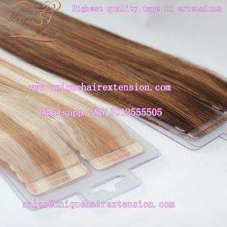 piano color tape in hair extensions