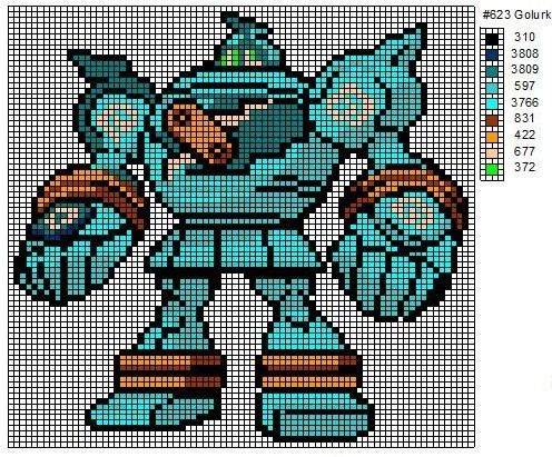 Crochet Fanatic: Pokemon 621-630 - Pixel Pokemon Legendaire