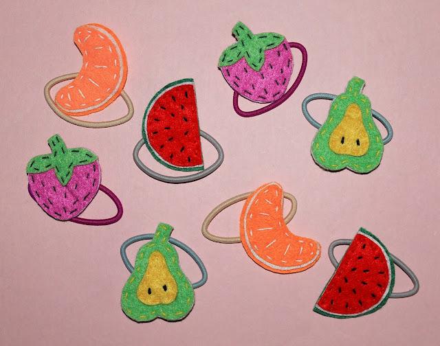 coleteros-frutas-fieltro