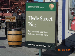 hyde street pier at fishermans wharf