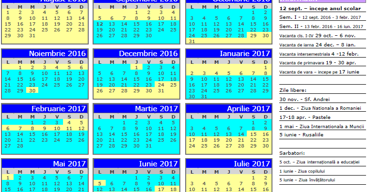 Pastele Catolic 2016 | Calendar Template 2016