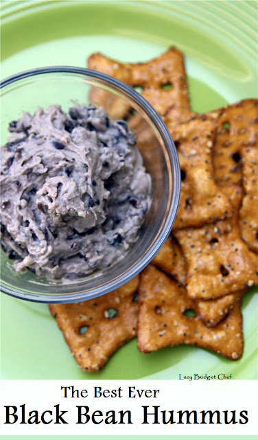 best ever black bean hummus recipe