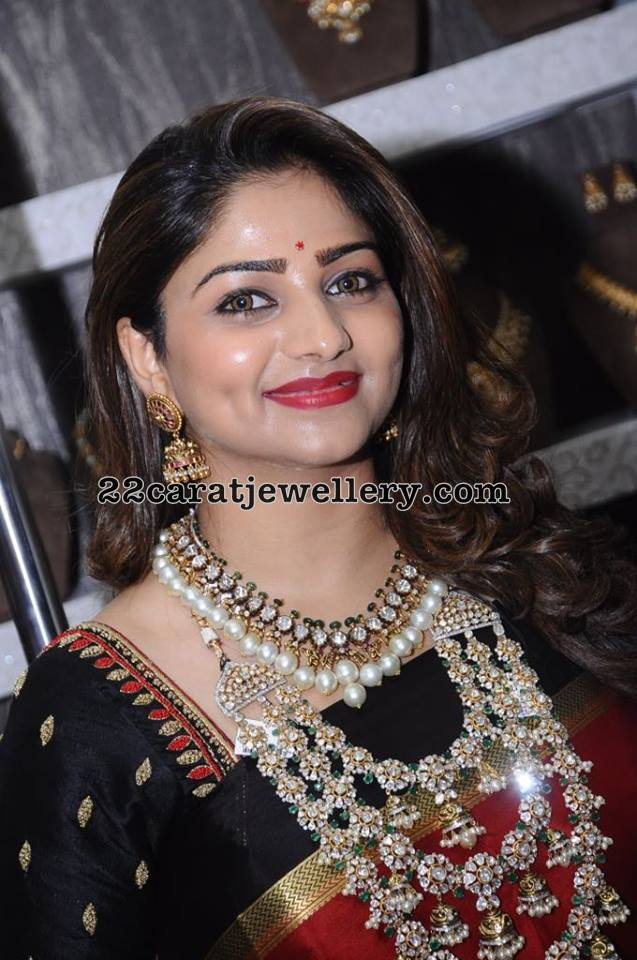 Rachita Ram Showcasing Polki Jewelry