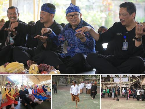 Festival Kaulinan Budak Lembur di ECO Bambu Cipaku