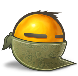 Bandit Facebook emoticon