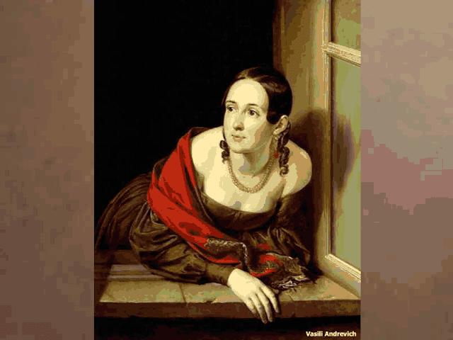 Resultado de imagem para mulher do rei sentada na janela