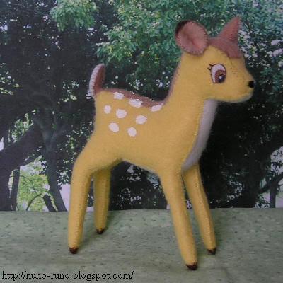 Felt Bambi