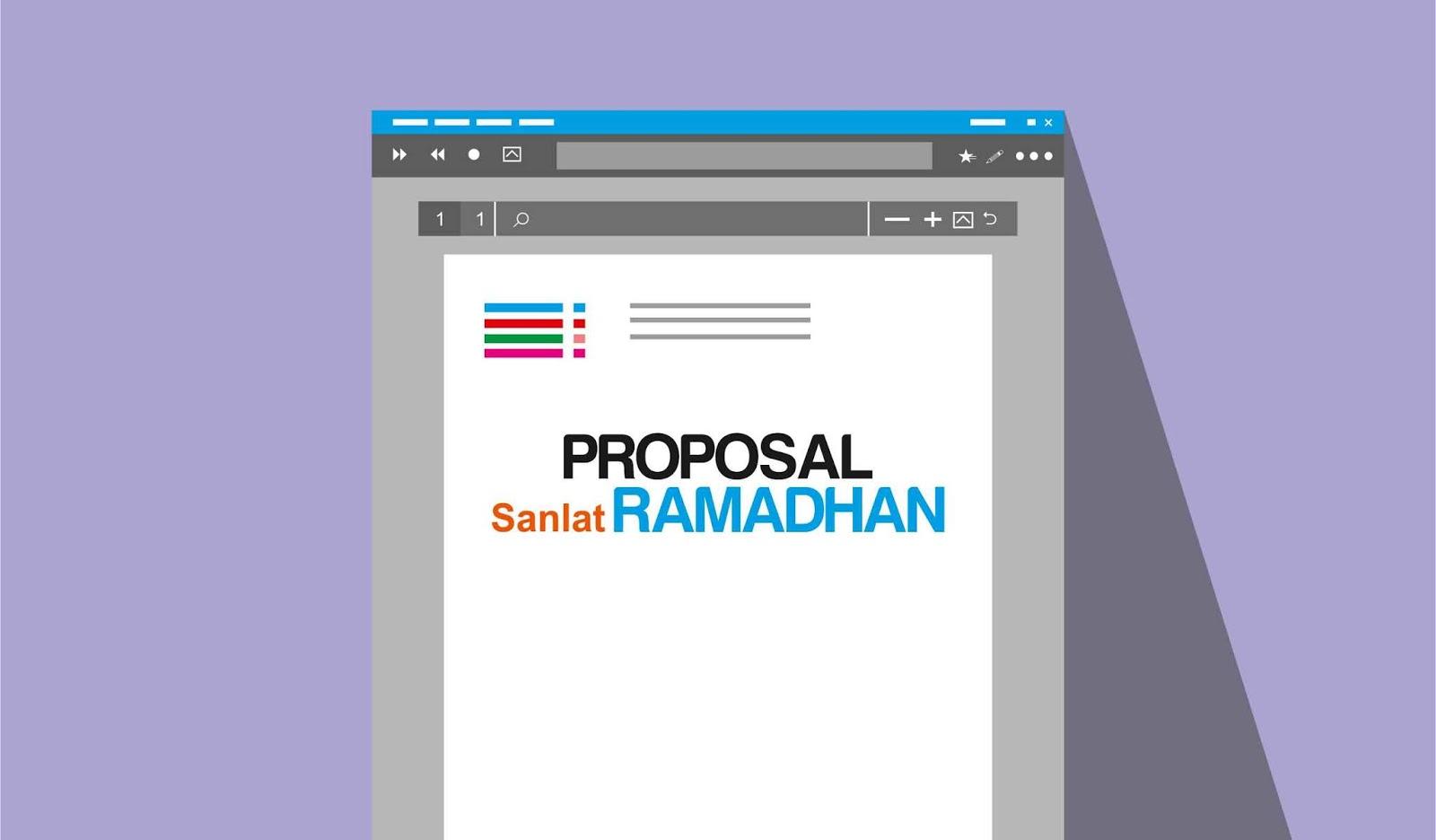 Contoh Proposal Pesantren Kilat Sanlat Ramadhan Sd Mi