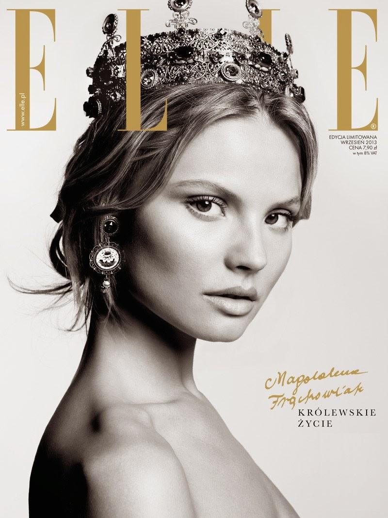 Magdalena Frackowiak Elle Poland editorial