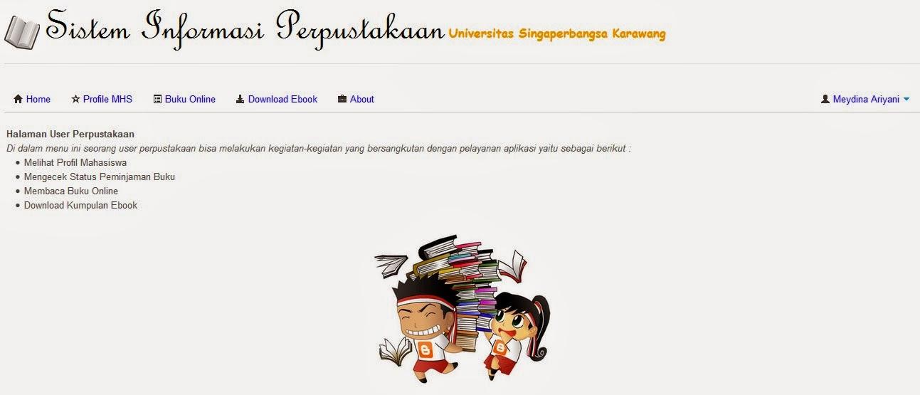 Program Sistem Informasi Perpustakaan Berbasis Web