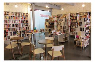 Librería Tipos Infames en Madrid