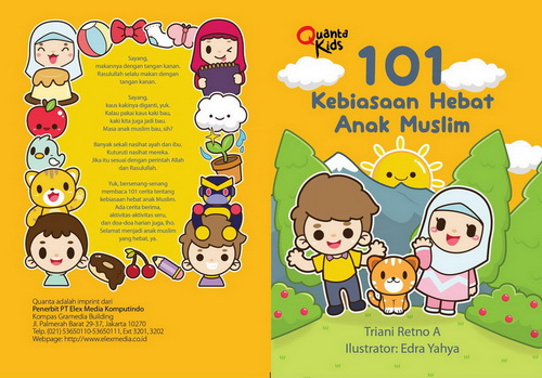 Proses Kreatif Buku 101 Kebiasaan Hebat Anak Muslim