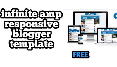 TOP ONE GOOGLE AMP BLOGGER TEMPLATE SEO FRIENDLY 2019