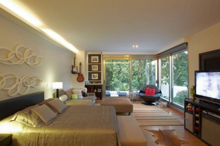 casa decorada Casa Nova Design Dinâmico e Exuberante