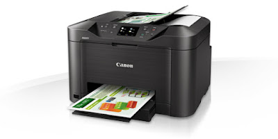 No waiting for documents with Quick First Print plus  Canon MAXIFY MB5040 Driver Downloads