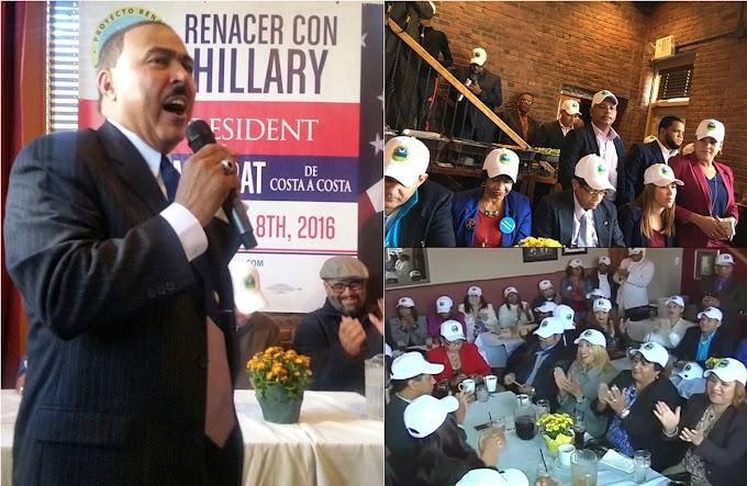 Movimiento Renacer con Hillary  llama dominicanos y latinos  activar votos en estados claves y reñidos