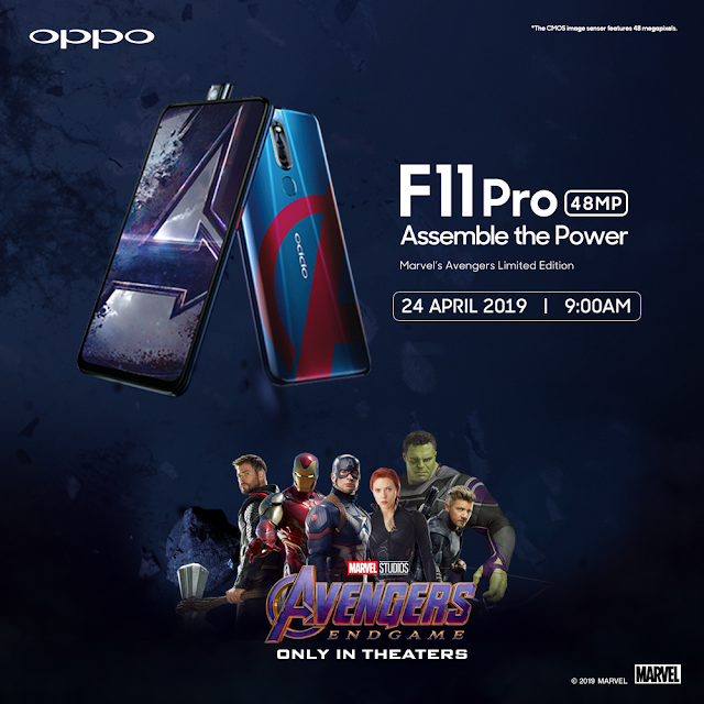 Special Edition - OPPO F11 PRO Marvel's Avengers Limited Edition