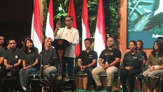 Sempat Anjlok 2 Persen, Jokowi Klaim Elektabilitasnya di Jateng Sudah Kembali Naik