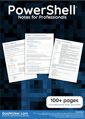 Powershell PDF Book Notes | Free Download