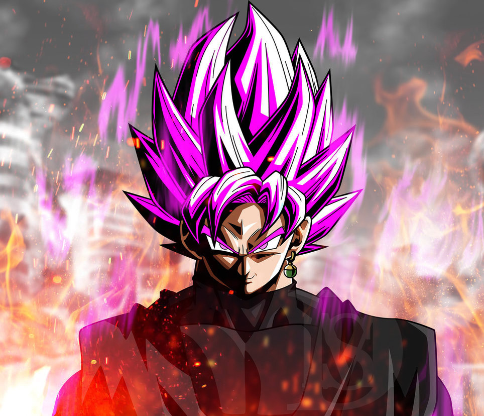 Goku Wallpaper Hd: Son Goku BLACK Pics To Save As Wallpaper Super Saiyan Rose