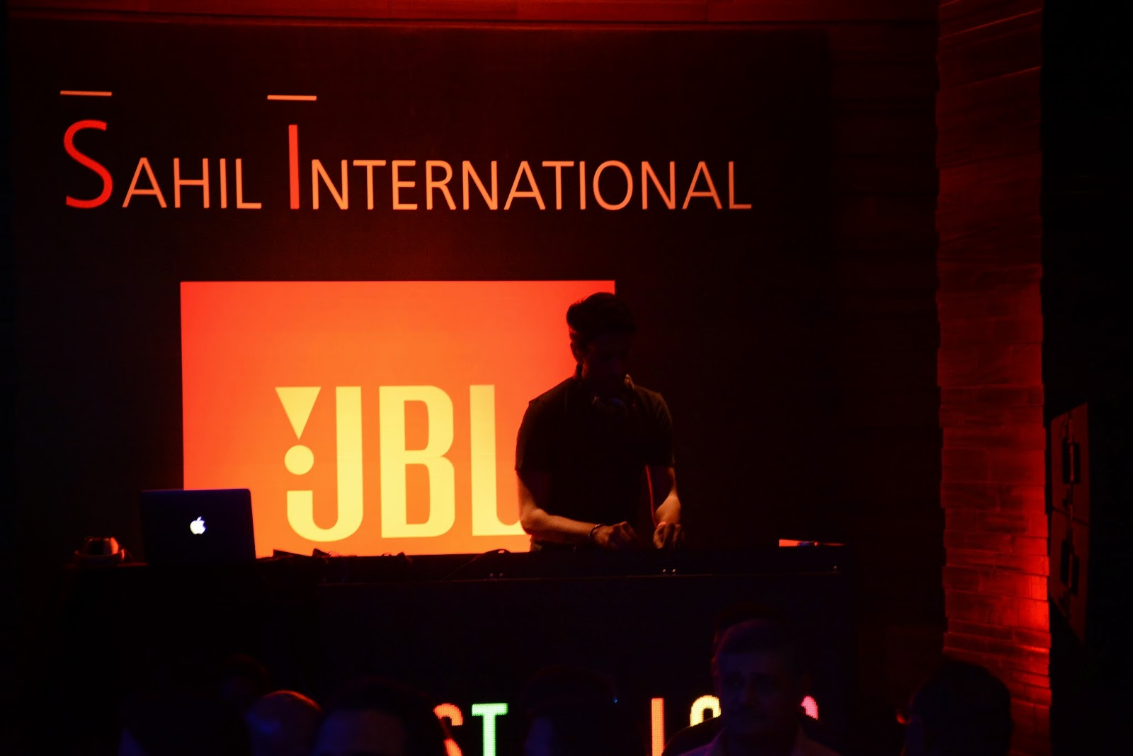 DJ's at the JBL Just Be Loud Party