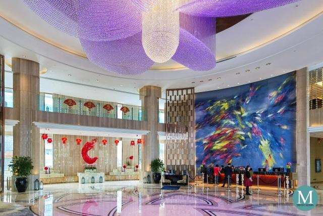 Lobby of Sofitel Guangzhou Sunrich