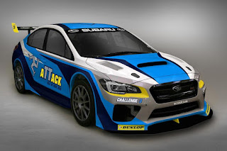 Subaru WRX STI Isle of Man TT Time Attack 2016 Front Side