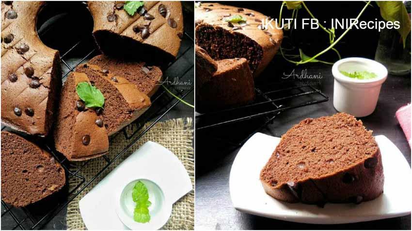 Resep Membuat Bolu Nutrijel Coklat