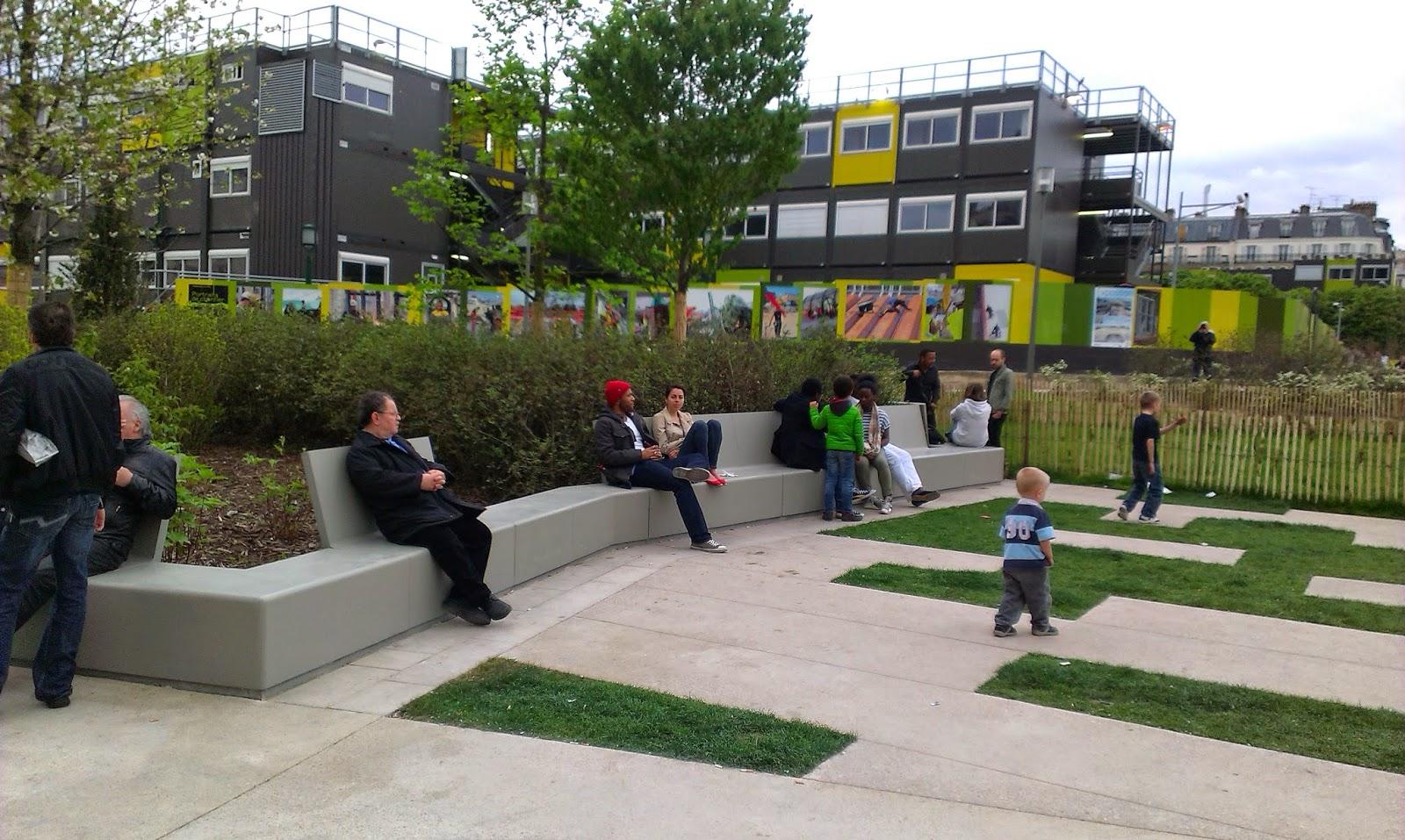 Preferenza Jardin Nelson Mandela, Quartier des Halles, Paris - France _ Seura  FZ59