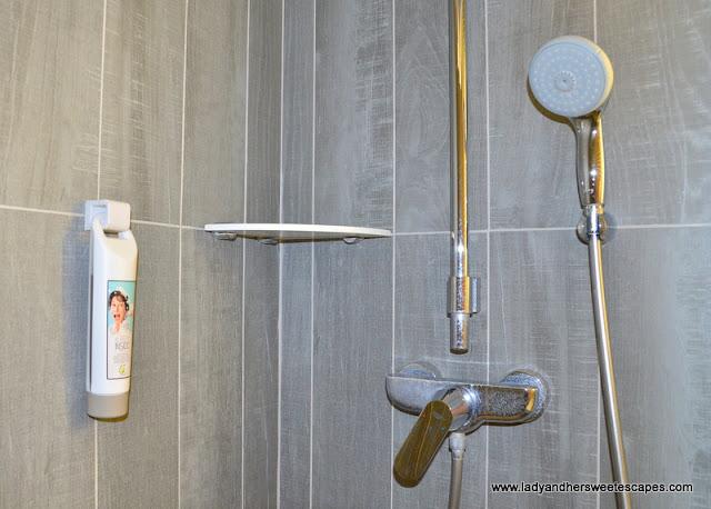 bathroom at Ibis Hotel Paris