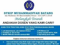 Lowongan Dosen Pendidikan Bahasa Inggris Januari 2019 - STKIP Mu