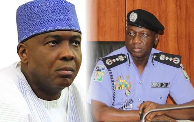 IGP Idris sues Senate, Saraki, says Buhari stopped me from honouring invitation