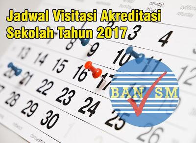 Jadwal Lengkap Visitasi Akreditasi Tahun 2017