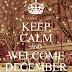 Δεκέμβριος Καλό Μήνα