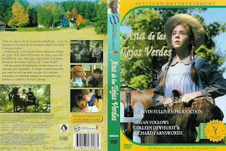 Carátula dvd: Ana de las tejas verdes 1985