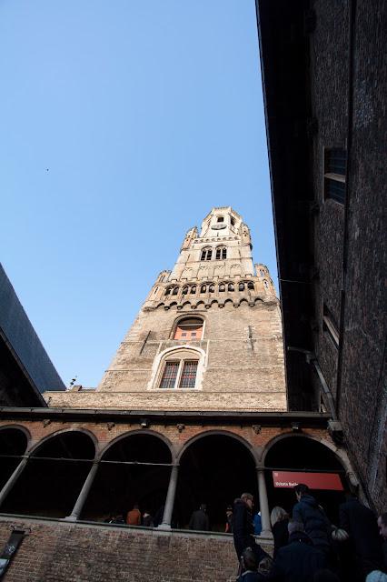 Torre del Belfort-Markt-Bruges