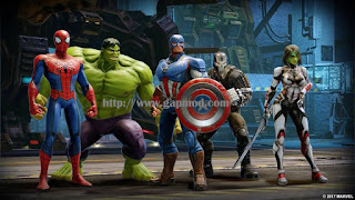 MARVEL Strike Force v0.2.0 Apk