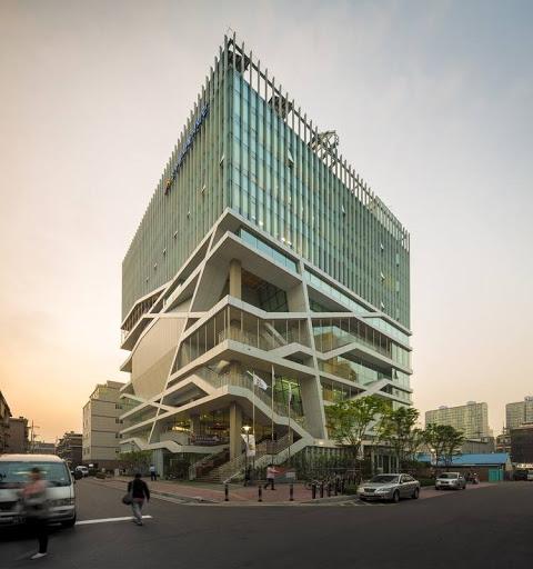 """مبنى بيئي""""غابة الثقافة """"في كوريا الجنوبية"""