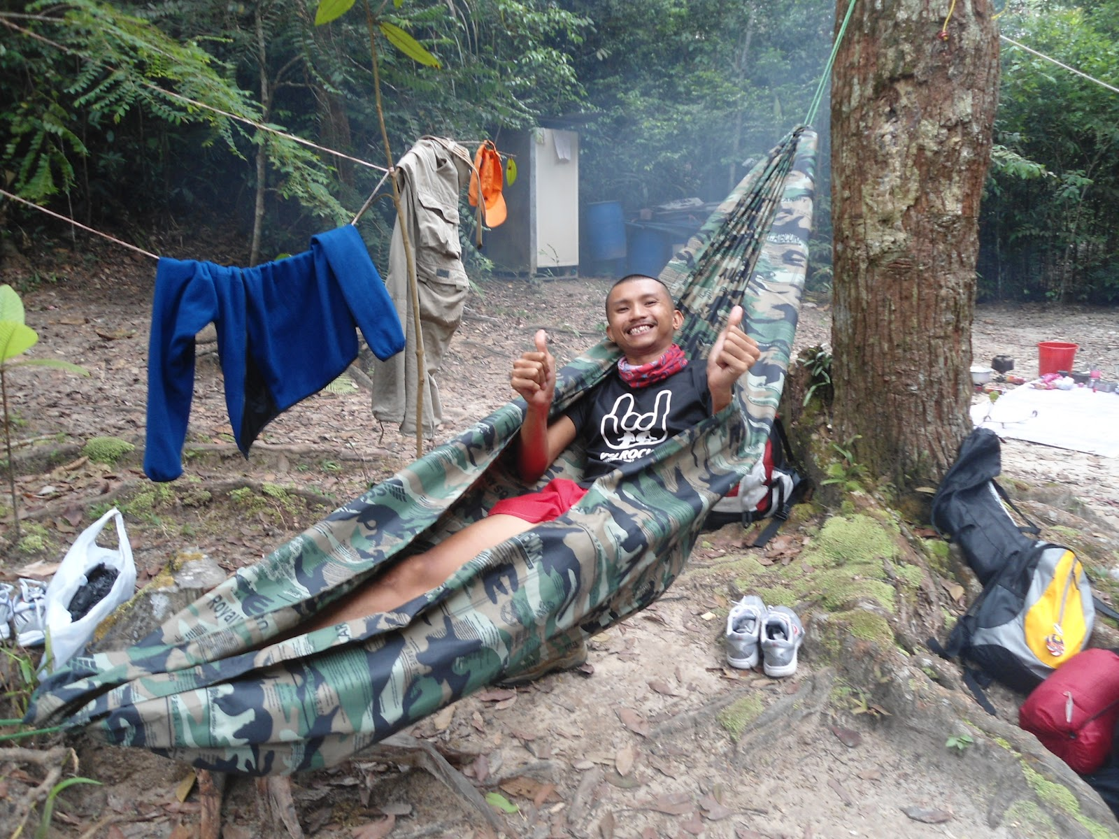 Beyond Outdoor Education What Is Hammock Camping