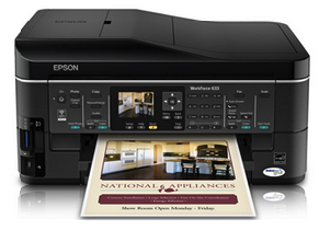 Epson WorkForce 633 Driver Download - Windows, Mac